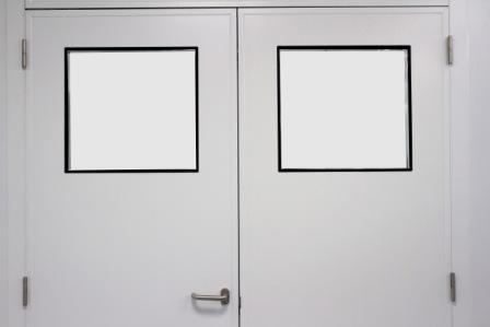 Mirilla en puertas para Salas Blancas